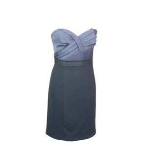 Blue/Black BcbgMaxAzria strapless Dress NWT size 8